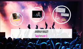 Aniyah Hale Project thing about meeee!