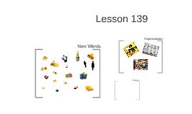 Lesson 139