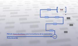 Método Grancolombiano para la enseñanza de la matemática