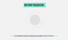GBD GROUP PRESENTATION