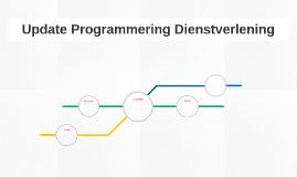 Update Programmering Dienstverlening