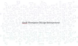 Geoff Thompson Chicago Entrepreneur