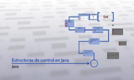 Estructuras de control en Java