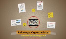 Pscologia Organizacional