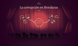 La corrupcion en Honduras