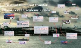Copy of İstanbul Olimpiyat Oyunları Hazırlık ve Düzenleme Kurulu