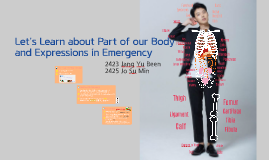 Let's learn about part of our body