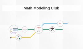 Math Modeling 2016-17