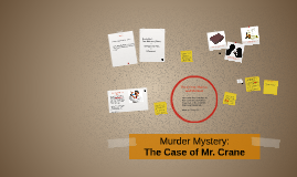 Copy of Murder Mystery: