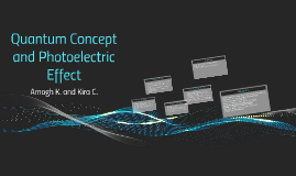 Quantum Concept and Photoelectric Effect