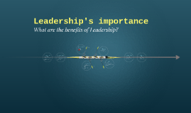 Leadership's importance