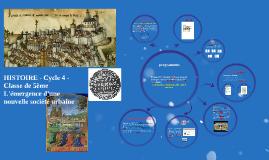 Copy of HISTOIRE - Cycle 4 - Classe de 5ème