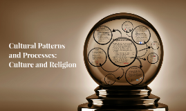 Cultural Patterns and Processes: Culture and Religion