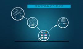 SERVIDOR DNS  Y DHCP