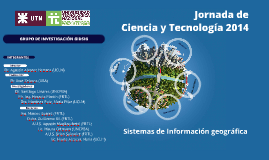 Jornadas CyT 2014 GIDSIG