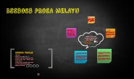 BSS3053 PROSA MELAYU
