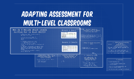 Adapting Assessment for