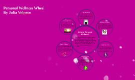 Personal wellness wheel