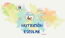 Nutrición Escolar