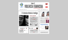 Copy of VIOLENCIA FEMINICIDA