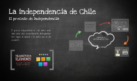 Copy of La Independencia de Chile