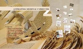 LITERATURA ORIENTAL Y MEDIEVAL