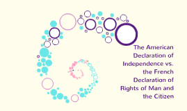 The american declaration of independence vs the french decl by the american declaration of independence vs the french decl by virginia arenas on prezi ccuart Image collections