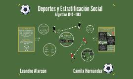 Deportes y Estratificación Social
