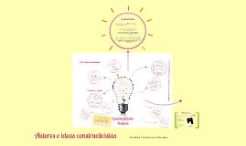 Autores e ideas constructivistas