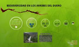 BIODIVERSIDAD EN LOS ARRIBES DEL DUERO