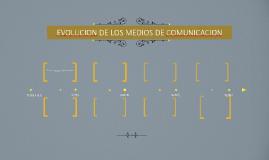 EVOLUCION DE LOS MEDIOS DE COMUNICACION
