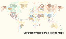 Geography Vocabulary!