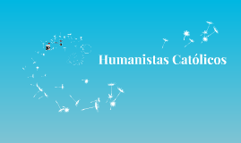 Humanistas Católicos