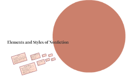 Elements and Styles of Nonfiction