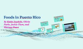 Foods in Puerto Rico