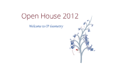 Copy of Open House 2012