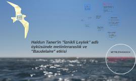"""Haldun Taner'in """"İznikli Leylek"""" adlı öyküsünde metinleraras"""