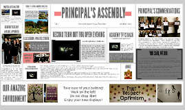 Copy of Principal's Assembly (October '14)