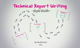 report writing style guide