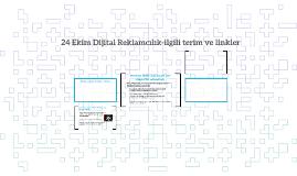 24 Ekim Dijital Reklamcılık-ilgili terim ve linkler