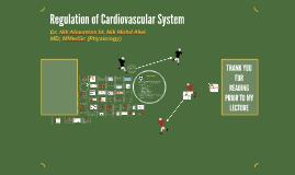 Regulation of Cardiovascular System