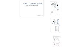 Tester Execution Training - Apotex