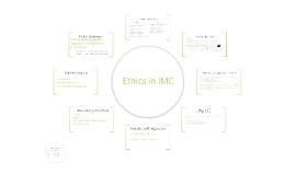 Topic #9, Ethics in IMC