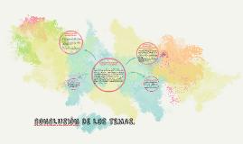 CONCLUSION DE LOS TEMAS.