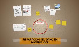 REPARACIÓN DEL DAÑO EN MATERIA VICIL