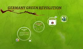 GERMANY GREEN REVOLUTION