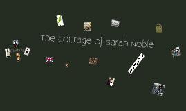 Sarah Noble - Life Back Then