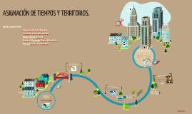 Copy of ASIGNACIÓN DEL TIEMPO Y             TERRITORIO