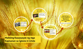 Copy of Maikling Kasaysayan ng Kapisanang KADIWA at BINHI