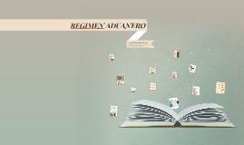 Copy of REGIMEN ADUANERO